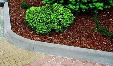 Бордюры из бетона для клумбы купить уличный вазон из бетона купить